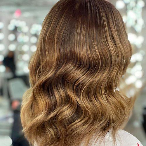Color und Waves von DA VINCE HAIR & MAKE-UP